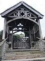 Lychgate, St George's Church, Clun.jpg