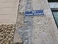 Lyon 1er - Rue Pierre Dupont, plaque.jpg