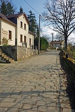 Richard-Wagner-Straße in Lohmen