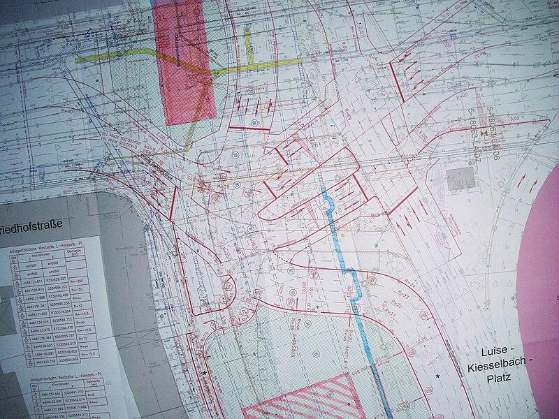 File:München - Luise-Kiesselbach-Platz - Baustellenplan.jpg