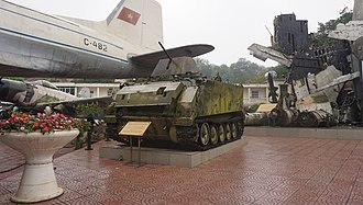 Vietnam Military History Museum - Image: M 113 in the Vietnam Military History Museum