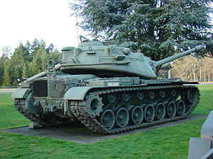 M103 (heavy tank) - M103 at Ft. Lewis