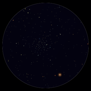M 46 al telescopio 114mm
