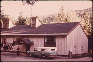 Adirondack Park Agency visitor interpretive centers - SUNY-ESF Adirondack Ecological Center, c. 1973