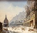 MGS, Heinrich Bürkel, Der St. Petersfriedhof in Salzburg im Winter 1845-50-20160312-001.jpg