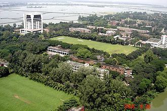 Military Institute of Science and Technology - MIST campus Aerial View