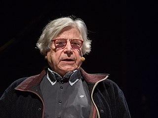 Bazon Brock German art theorist and critic, multi-media generalist and artist