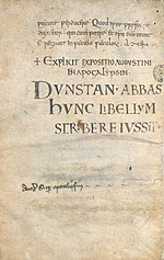 MS. Hatton 30 Expositio Augustini in Apocalypsin 73v