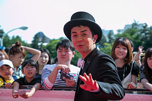 Kenichi Maeyamada - Maeyamada at the 2014 MTV Video Music Awards Japan