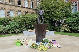 MV Derbyshire - The memorial in Liverpool