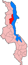 Location of Nkhata Bay District in Malawi