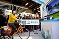 Ma Ying-jeou and YouBike at Taipei City Government hall 20151128.jpg