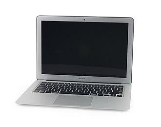 MacBook Air - Image: Macbook Air