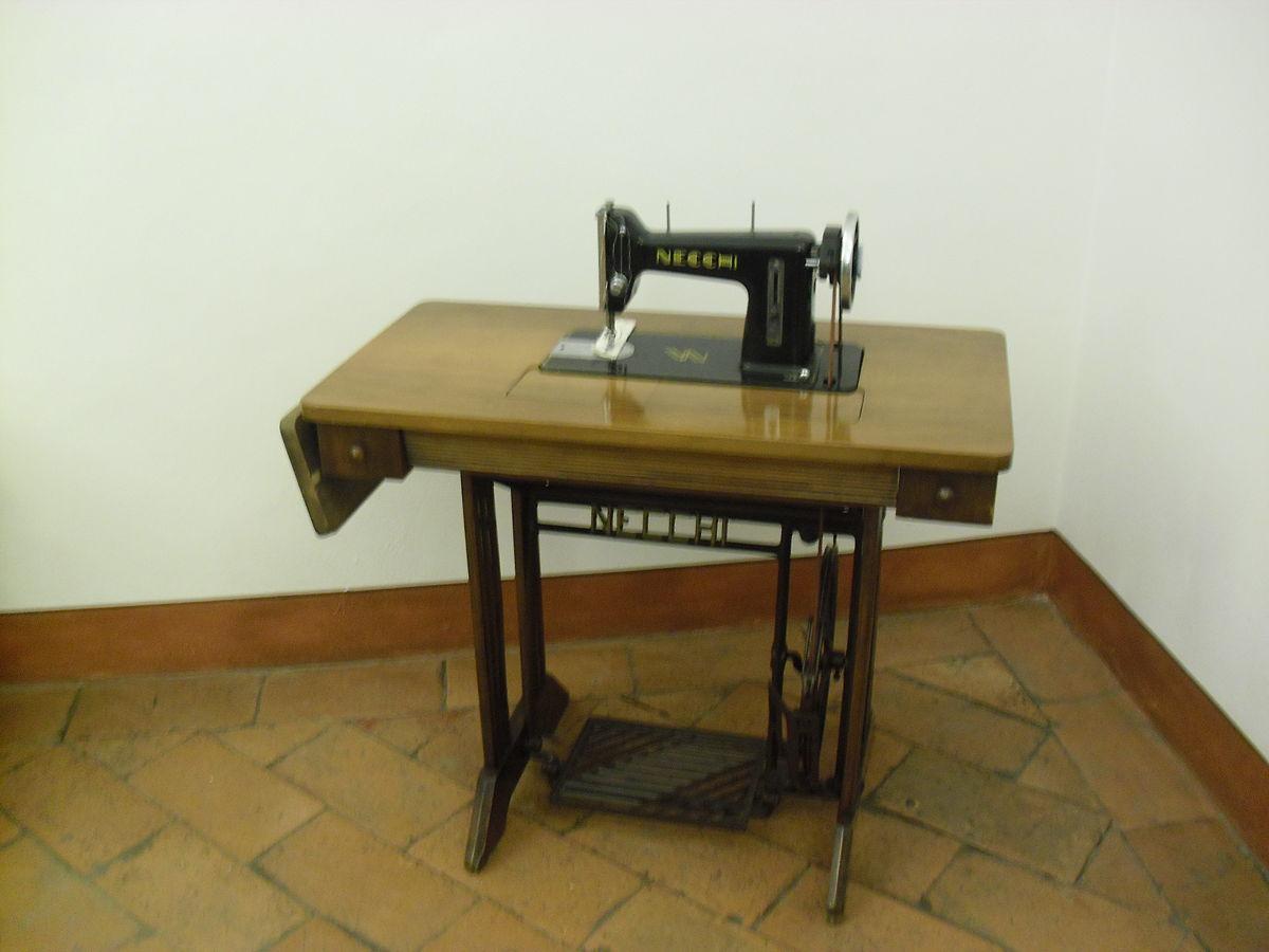Necchi wikipedia for Victoria macchina da cucire