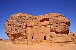 מדאאן סאלח; קברים חצובים בסלע