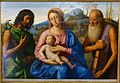 Madonna and Child with St John and St Jerome, attributed to Alvise Vivarini and Marco Basaiti, 1500s - Gallery - Harewood House - West Yorkshire, England - DSC02004.jpg
