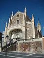 Madrid iglesia Jeronimos vista fachada ni.jpg