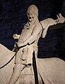 Maestro dell'arca di mastino II, statua a cavallo di cangrande della scala, 1340 ca. 03.jpg