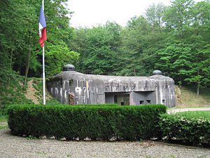 Maginot Line - Entrance to Ouvrage Schoenenbourg, Maginot Line in Alsace