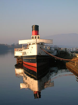 PS Maid of the Loch - The Maid of the Loch in 2007.