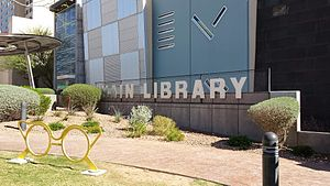 El Paso Public Library - The Main Library branch of the El Paso Public Library.