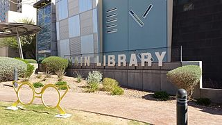 public library in El Paso, Texas, USA