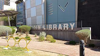 El Paso Public Library - The Main Library branch of the El Paso Public Library.