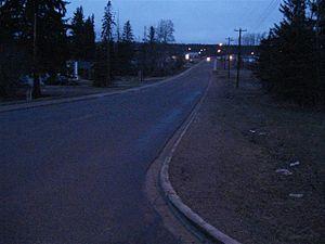 Fort Vermilion - Main Street