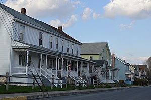 Port Royal, Pennsylvania - Houses on Main Street