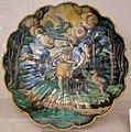 Maiolica di urbino, crespina con sacrificio di isacco, 1550 ca.jpg