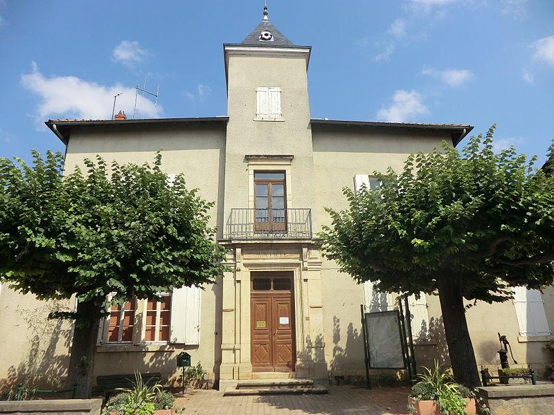 Mairie de Fareins.