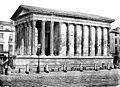 Maison Carrée - Ensemble sud-ouest - Nîmes - Médiathèque de l'architecture et du patrimoine - APMH00007469.jpg