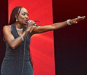 Maizie Williams - Williams performing at Lets Rock Bristol in 2014