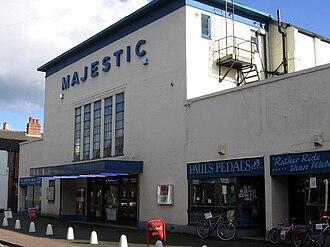Reel Cinemas, UK - Image: Majestic Cinema, Bridgnorth