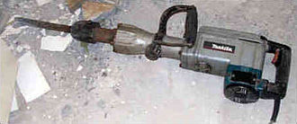 Jackhammer - A single phase demolition breaker.