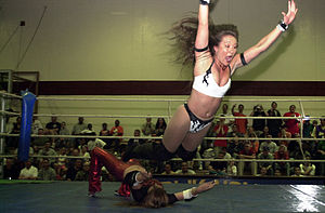 Malia Hosaka - Malia Hosaka being thrown by Valentina.