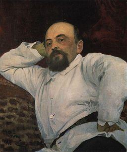 Илья Репин, портрет Мамонтова