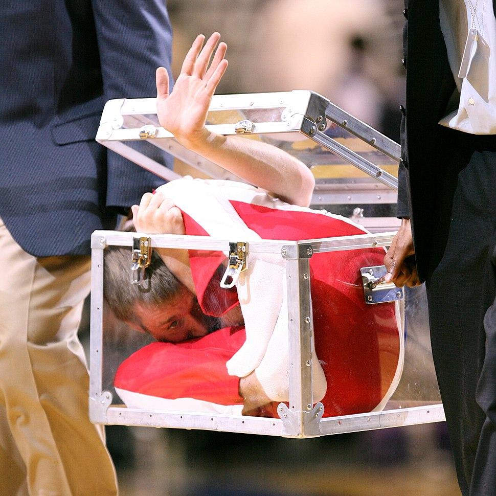 Man in a box