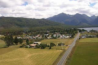 Manapouri Place in New Zealand