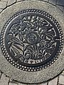 Manhole cover of Kasuga, Fukuoka.jpg
