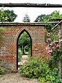 Mannington Hall - The Heritage Rose Garden - geograph.org.uk - 878990.jpg