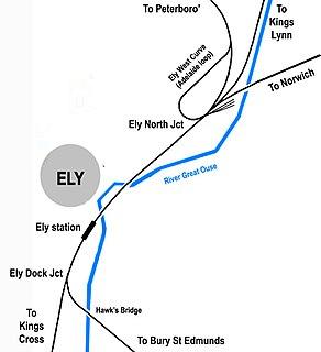 Railways in Ely