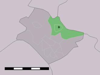 Hertme - Image: Map NL Borne Hertme