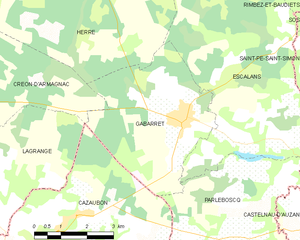 Map commune FR insee code 40102.png