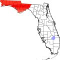Map of Florida highlighting Panhandle.png