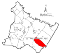 Map of Westmoreland County, Pennsylvania Highlighting Cook Township.PNG