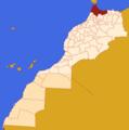 Mapa MARROCOS-2015-2-Tânger-Tetuão-Al Hoceïma.png