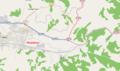 Mapa položaja Municipality of Mediana (Nis).png