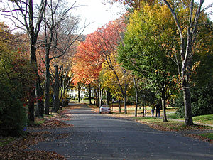 Maplewood, New Jersey - Maplewood in autumn