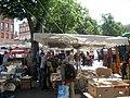 Marché à la brocante (Flea market), Place St Sernin, Toulouse, France. - panoramio.jpg